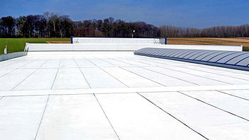 Hypertectum® coating voor zowel horizontale als verticale vlakken.