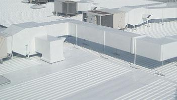 Hypertectum ®AR Coating - Waterdicht maken dakbedekking van metaal.