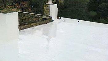 Waterdicht vloeibare dakbedekking praxis